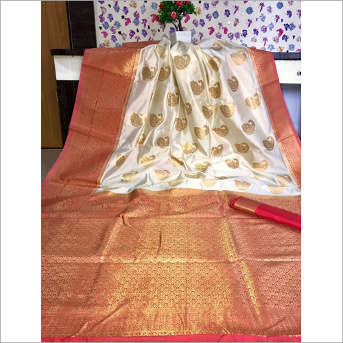 Ladies Wedding Banarasi Saree