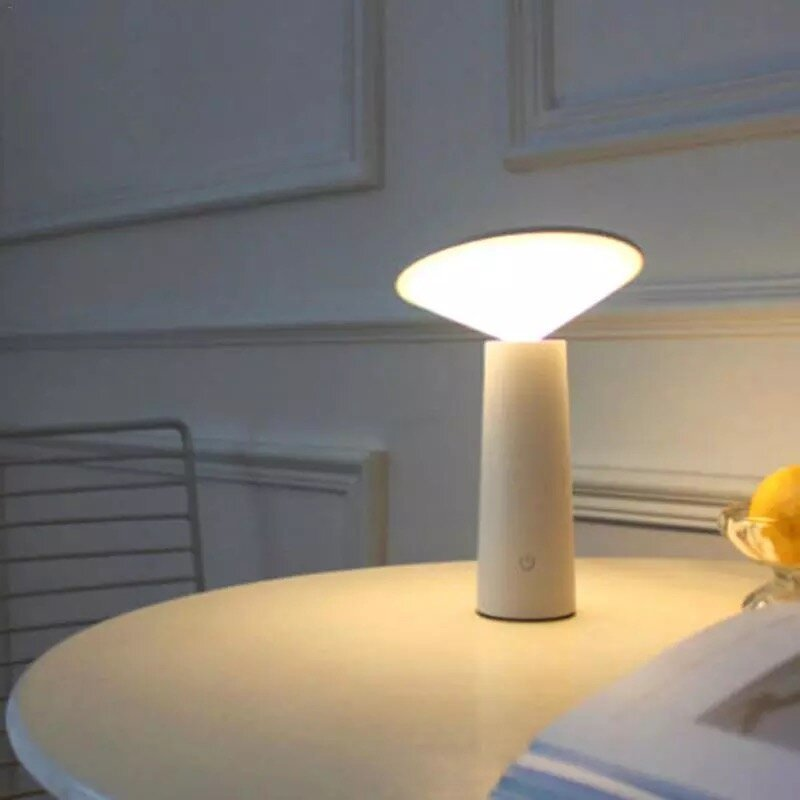 Table Lamp, Mini Desk Led,usb,touch Sensor, Adjustable (Warm White+ Natural White+ Cold White)