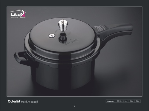 Outer Lid Hard Anodize Pressure Cooker