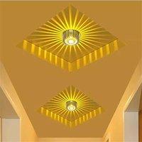 3W Sunflower Decorative Wall Lamp Led - Yellow