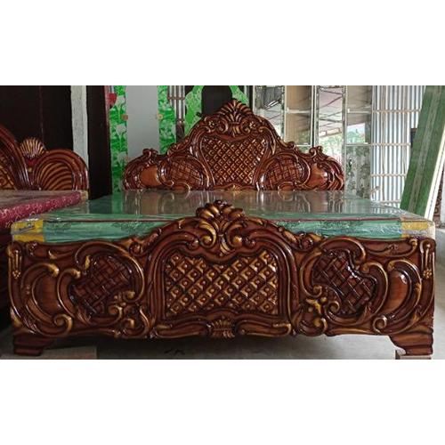 Antique Design Wooden Bed