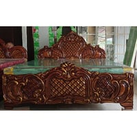 Antique Design Wooden Bed