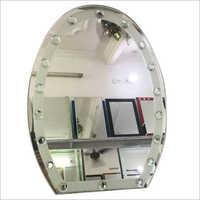 Oval Bathroom Mirror Glass