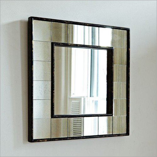 Square Decorative Mirror Glass