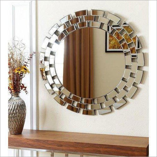 Round Decorative Mirror Glass