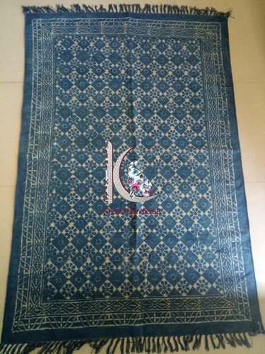 Traditional carpet flat weave rug