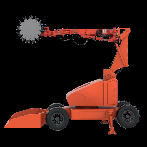 Varaha Remotely Operated Ore Cutting Vehicle
