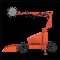 Varaha Remotely Operated Ore Cutting Vehicle