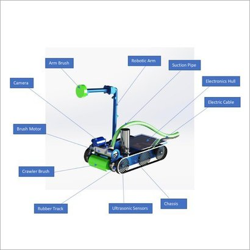 Varaha Sc-E - Industrial Tank Cleaning Robot
