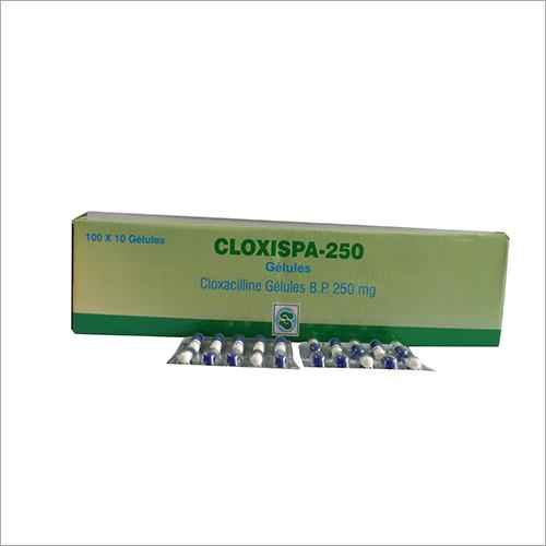 B.P 250 100 X 10 Cloxispa Cloxacilline Gelules