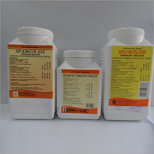 250-500 mg Spamox Capsules