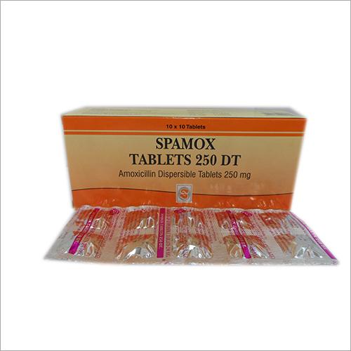 250 mg Amoxicillin Dispersible Tablets