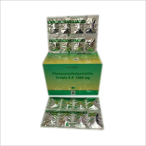 1000mg 10 x 8's Phenoxymethylpenicillin Tablets