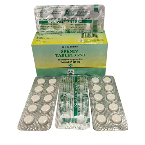 250 mg 10 X 10 Blister Phenoxymethylpenicillin Tablets
