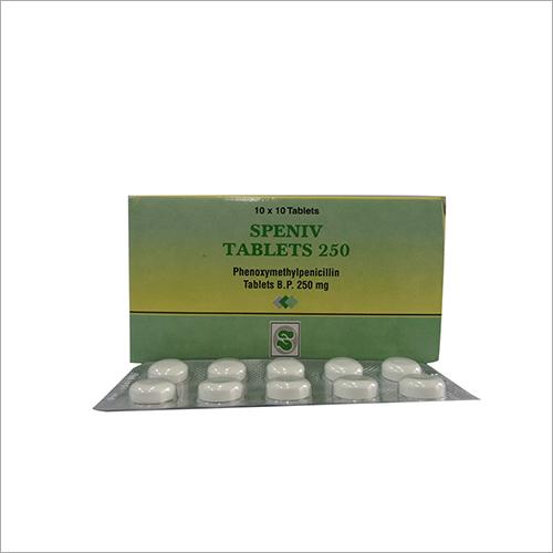 250 mg Phenoxymethylpenicillin Tablets
