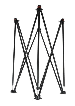 VAIBHAV Professional Foldable Height Adjustable Carrom Board Stand