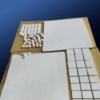 Strong Adsorption Alumina Ceramic Foam Filter Plate