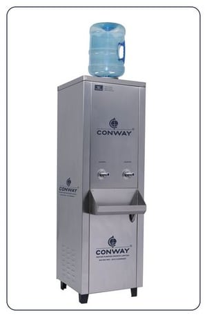 CONWAY BWD 75 STAINLESS STEEL COMMERCIAL BOTTLE WATER DISPENSER - NORMAL