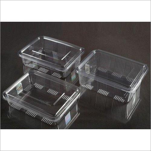 Pp 1250 Ml, 1500 Ml, 2000Ml Hinged Food Box