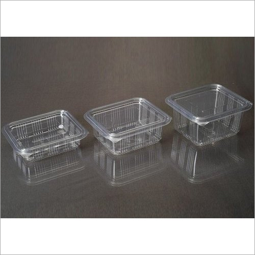 250 ml, 375 ml, 500 ml plastic Hinged Box