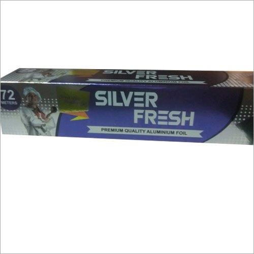 72 mtr Silver Fresh Aluminium Foil Roll