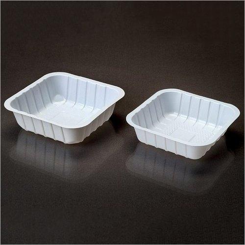 Disposable Plastic Square Bowls