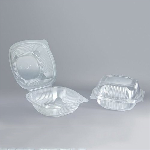 Plastic Disposable Burger Container