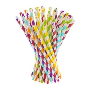 Colorful Paper Straw