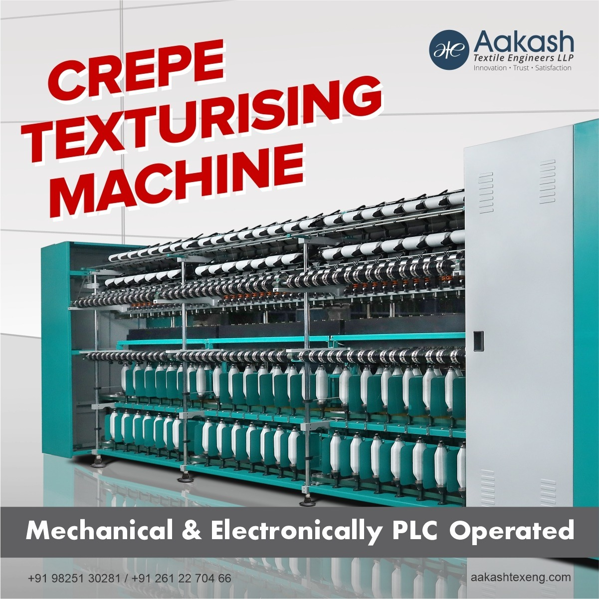 Crepe Texturising Machine