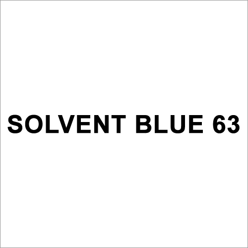 Solvent Blue 63