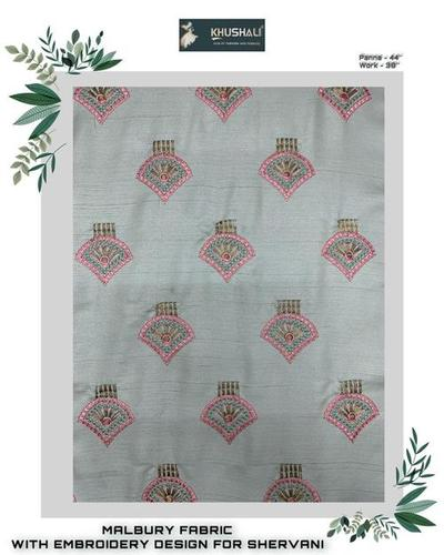Embroidery Design on Mulbary Fabrics [ Also Available on All Fabrics]