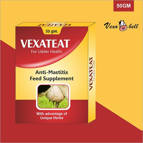 Vexateat Powder 50gm ( For Udder Health - Anti Mastitis Feed Supplement )