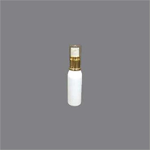 Spray Bottle With Golden Pump