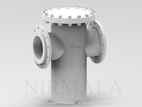 PP Fabricated Basket Strainer 12