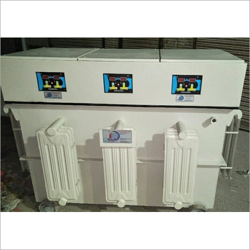 Industrial Three Phase Servo Stabilizer