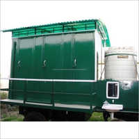 FRP 6 Seater Mobile Toilet Van