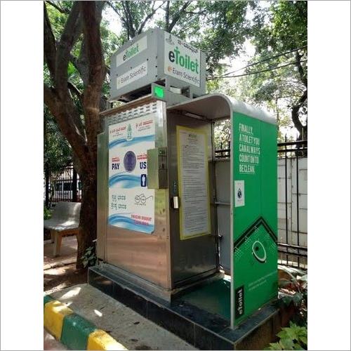 Prefab Mobile E-Toilet