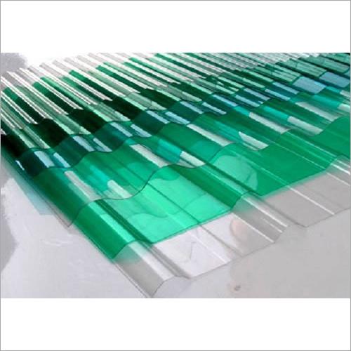 Green Fibreglass Roof Sheet
