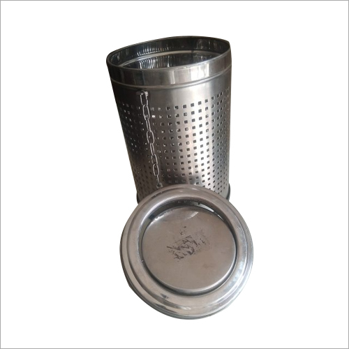 Stainless Steel Round Dustbin
