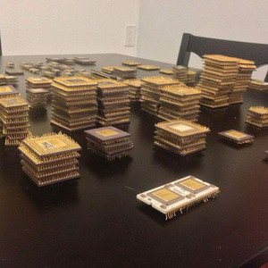 Cpu Ceramic Processor Scraps