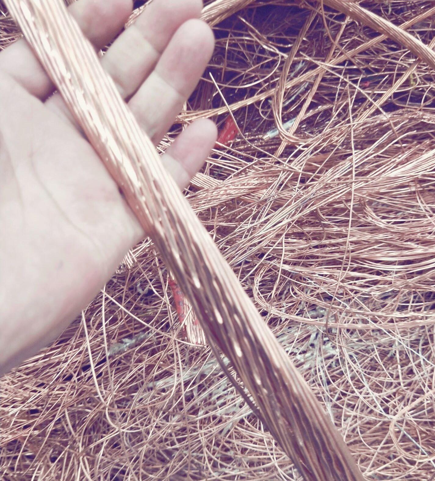 Copper Wire Scrap 99.9%max , 99.78%min