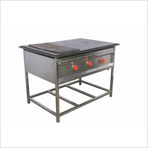 Commercial Chapati Puffer Table