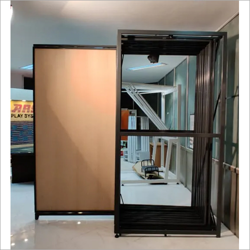 Laminate Room Tiles Pullout Display Stand