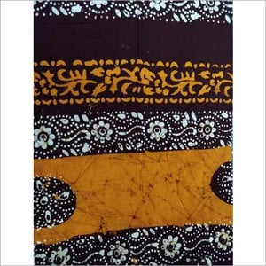 Double Color Print Cotton Nighty Fabric