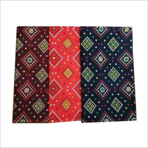 Gujri Print Cotton Nighty Fabric