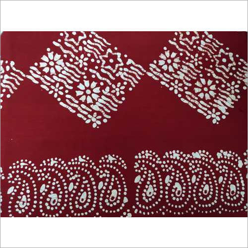 Printed Batik Cotton Nighty Fabric