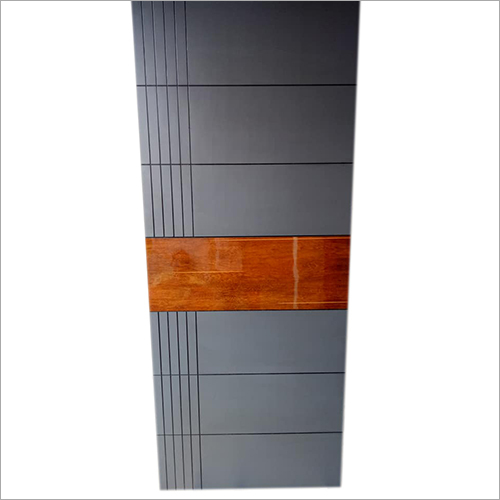 Raised Panel Wooden Door