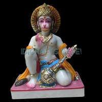 Beautiful Sitting Stone Hanuman God Statue