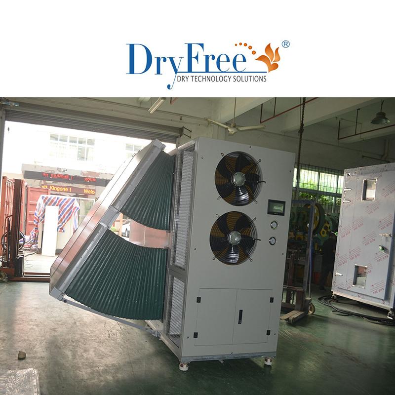 Heat pump drying machine for food