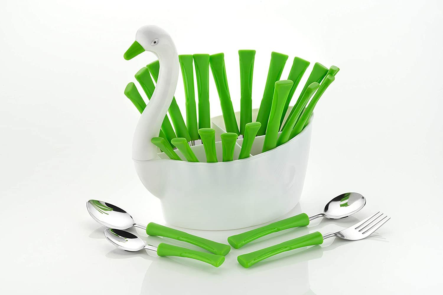 Premium Quality Duck Shape 24 pcs Cutlery Set for Kitchen and Dining Table